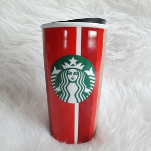 Starbucks 2018 Holiday Ceramic Travel Tumbler